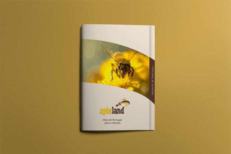 Capa da brochura para a Apisland
