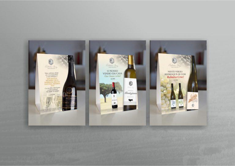 Design de caixas para garrafas de vinho Belmira Cruz