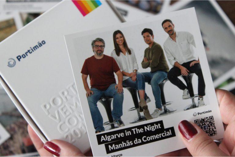 Exmplo de polariod de evento de 2018 da Câmara Municipal de Portimão