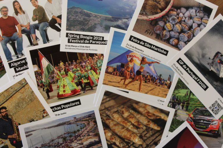 Polaroids de eventos para 2018 da Câmara Municipal de Portimão