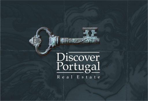 Design de logo para a Discover Portugal Real Estate