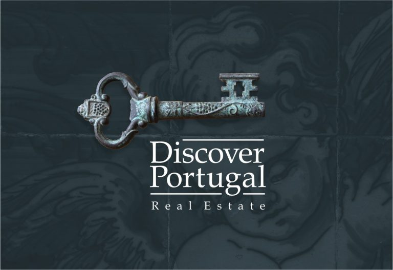 Design de logo para a Discover Portugal Real Estate