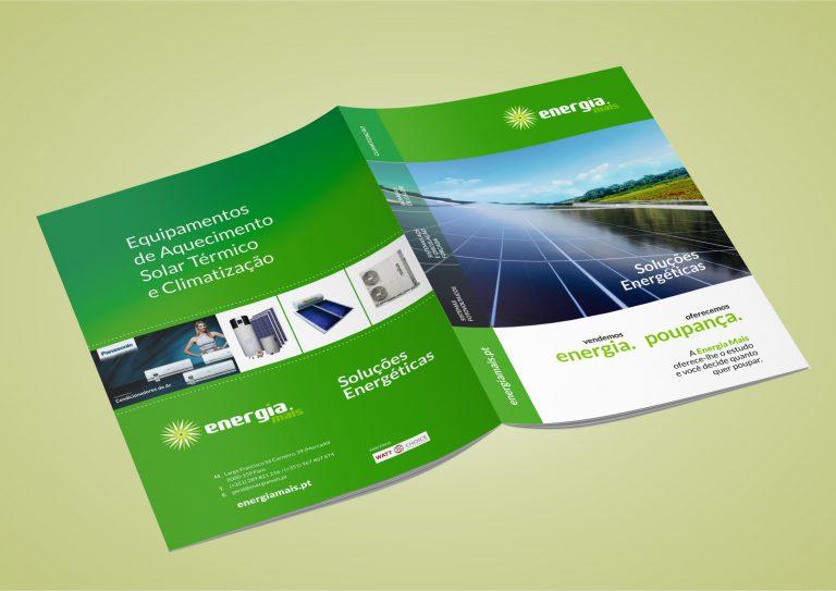 Capa da brochura para a Energia Mais