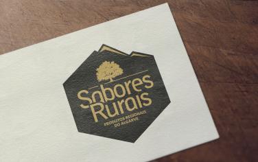 Design de logo de Sabores Rurais Produtos Regionais do Algarve