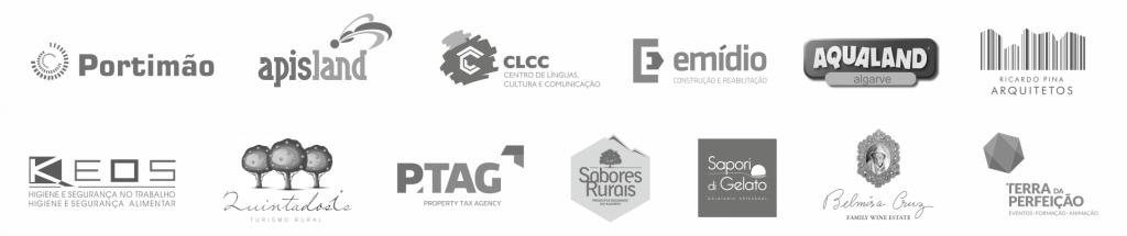 Logos de alguns dos nossos clientes