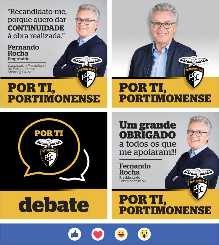 Campanha de Facebook do Por ti, Portimonense à eleição para a presidência do Portimonense Sporting Clube