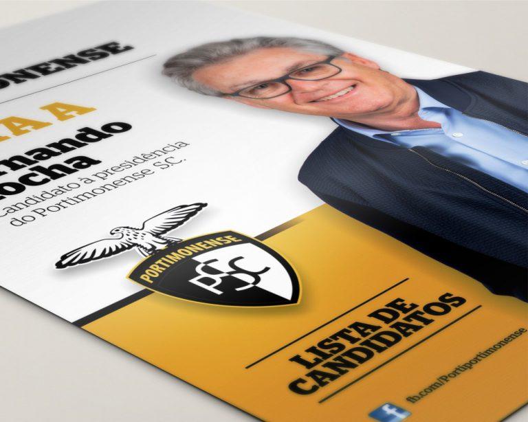 Flyer do Por ti, Portimonense à eleição para a presidência do Portimonense Sporting Clube