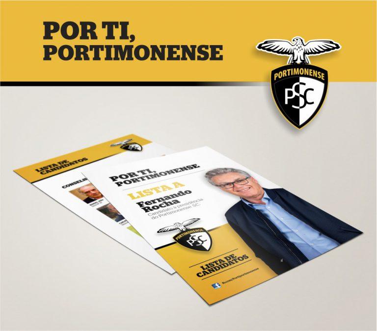 Criação de imagem do Por ti, Portimonense à eleição para a presidência do Portimonense Sporting Clube
