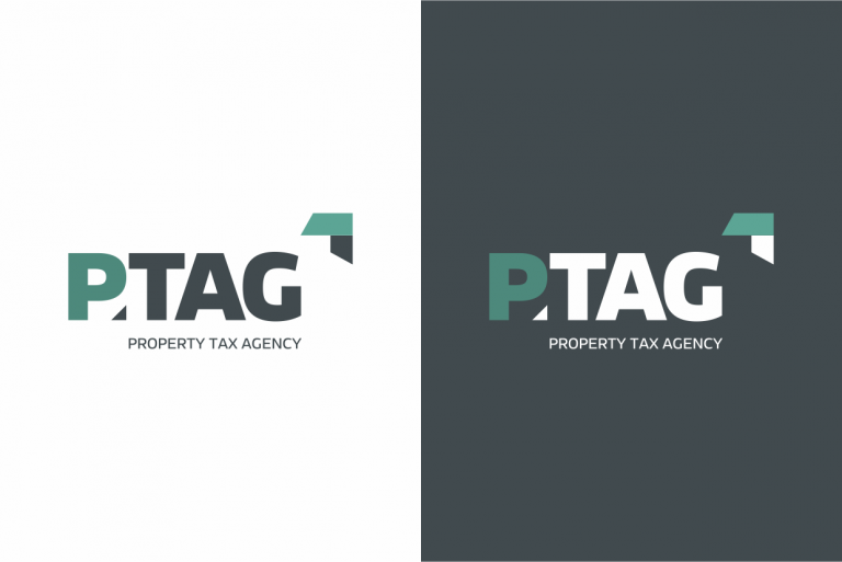 Design de logo de PTAG Property Tax Agency