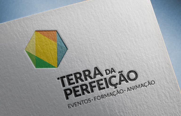 Design de logo para a Terra da Perfeição