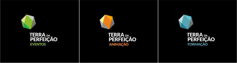 Design de logos para tipos de eventos da Terra da Perfeição