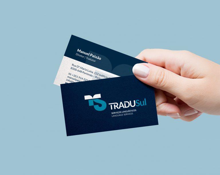 Cartão de visita da Tradusul