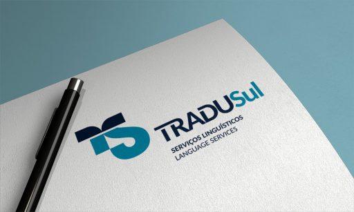 Design do logo da Tradusul